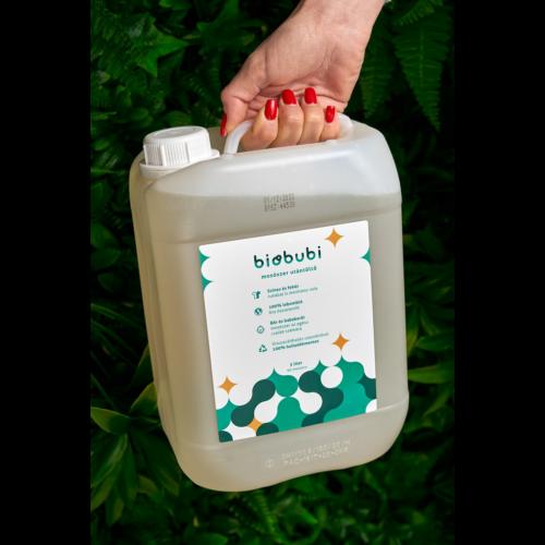 Biobubi mosószer és öblítő utántöltő 5l