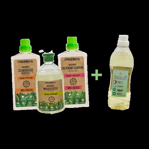 Hulladékmentesítő csomag + BioBubi mosószer